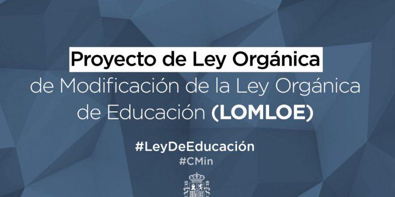 Ley LOMLOE 2020